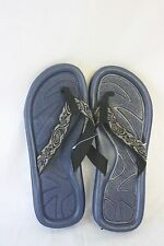 Sandals STAR Bay Sandals Navy With Printed Fabric Straps NEW SZ 11