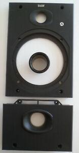 B&W Bowers & Wilkins DM602 DM 604 DM603 S2 Upper/lower Baffle Black (Hue)