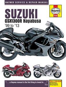Suzuki GSX1300R Hayabusa (99 - 13) Haynes Repair Manual