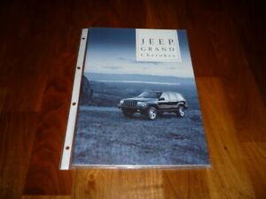 Jeep Grand Cherokee Prospekt 10/1996