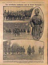 India Cavalry Front France General Singh Pertab Barentin Seine-Maritime 1916 WWI