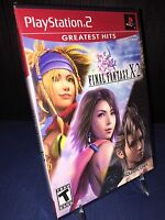 Final Fantasy X-2 (Sony PlayStation 2, 2003) Brand New Sealed Greatest Hits