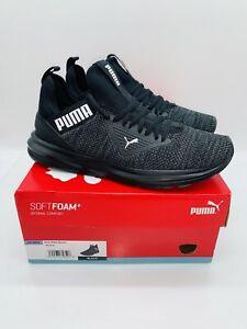 Puma Men's Enzo Beta Woven Atheltic Shoes Sneakers Black - Pick Size