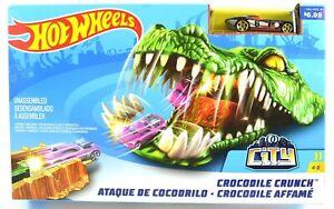 Hotwheels City Crocodile Crunch Vehicle & Launcher Set MISB 2017