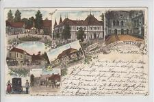 AK Piestany, Pöstyen, Kurhotel, Herrengasse, Litho 1896