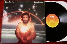 KENNY LOGGINS KEEP THE FIRE DEMO LP CBS (1979) A1 B1 NR MINT +INSERT ENGLAND