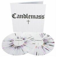 2 LP CANDLEMASS - SAME - SELF TITLED - S/T - WHITE - RED - BLACK SPLATTER