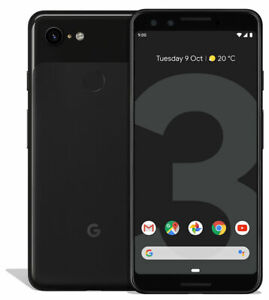 Google Pixel 3 128GB Just Black Unlocked Open Condition