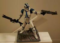 Star Wars Kotobukiya Clone Trooper 501st ROTS Ep3 Ver Statue ArtFX 1/7 Snap Fit