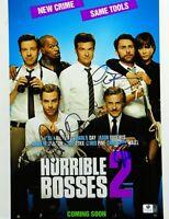 Chris Pine/Christoph Waltz/Charlie Day Signed 11X14 Photo Horrible Bosses 834946