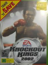 Xbox Game Knockout Kings 2002 w/tracking