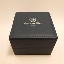 Vintage Olympia Star Watch Jewelry Presentation Box Case