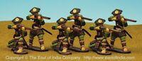 East of india  SCA10K - Ashigaru Arquebusiers, 3 Standing Firing & 3 Kneeling