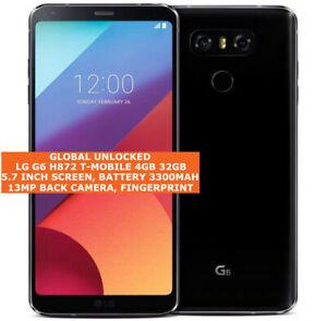 "LG G6 H872 Unlocked 4gb 32gb Quad Core 5.7"" Android 4g LTE Smartphone"