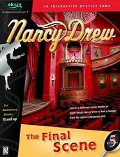 Nancy Drew 5 The Final Scene puzzle mystery adventure PC new CD XP/Vista/Win 7