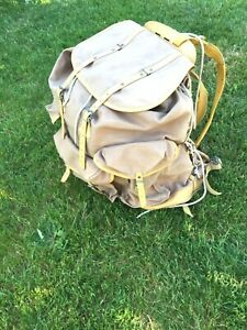 Ancien sac a dos Lafuma Randonnée Militaire Montagne Camping Scout brocante