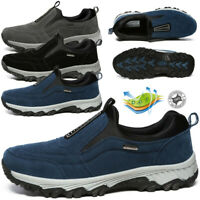 For Men's Casual Shoes Slip On Outdoor Sneakers Breathable Hiking Climbing Shoes