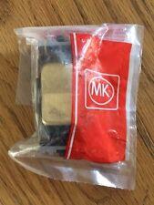 MK K4900 BBR B Grid Plus 10A Retractive Switch Black - Brushed Brass