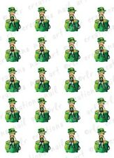 "20 Nail Decals * St Patrick's Day BETTY  BOOP""  Water Slide Nail Art Decals"