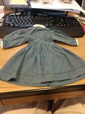 American Girl Doll Kirsten's Meet Dress