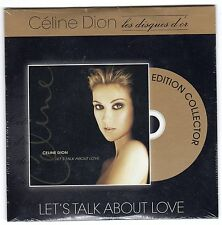CD ALBUM CARTONNE CELINE DION LES DISQUES D'OR LET'TALK ABOUT LOVE  16 TITRES