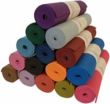 Deluxe Yoga Mat Thicker & Longer Sticky Non Toxic No Phthalates Bean Products,