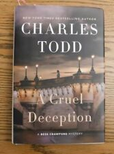 A Cruel Deception by Charles Todd (2019 Hardcover)