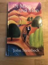 Of Mice and Men with Notes New Longman Literature Steinbeck Hardback Free P&P