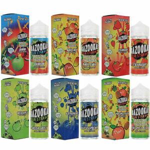 E Liquid 100m Bazooka Sour Straws  By Kilo Vape Juice USA 70/30 0MG