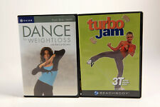 Lot 2 Workout Exercise Dvds Dance for Weight Loss 3T Totally Turbo Jam Beachbody
