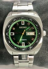 Seiko Recraft Series Automatic Watch Green Dial 43.5mm Case SS Bracelet SNKM97