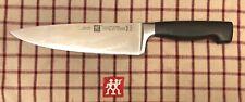 """Zwilling J.A. Henckels Four Star 8"""" Chef's Knife RAZOR SHARP L@@K!"""