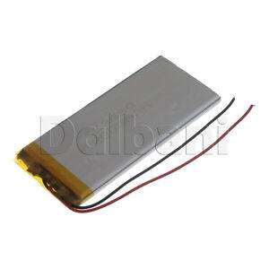 New 3.7V 2000mAh Internal Li-ion Polymer Built-in Battery 89x40x4mm 29-16-0804