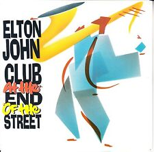 """ELTON JOHN Club At The End Of The Street PICTURE SLEEVE 7"""" 45 rpm vinyl record"""