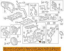 Chevrolet GM OEM 14-15 Cruze Engine Parts-Drain Plug 55588255