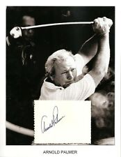 Arnold Palmer Autograph The King Golf Pro Champion PGA Tour Big Three Masters #1