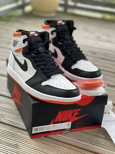"Nike Air Jordan 1 I High OG Retro ""Electric Orange"" in US 11,5 EU 45,5"
