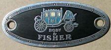 GM FISHER BODY EMBLEM Buick Cadillac Chevrolet Oldsmobile Pontiac #H113