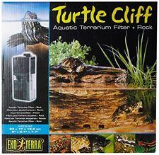 Turtle Cliff Rocher filtrant M pour aquaterrarium Exo Terra