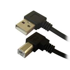 G43 USB 2.0 Kabel Druckerkabel A zu B Stecker abgewinkelt Adapter PC Drucker
