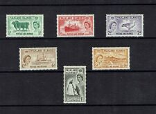 Falkland Islands: !955 Defintive Set, birds, ships, penguins, Mint