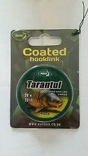 Katran Tarantul Coated Briad Hooklink -25 lb -20m Carp Fishing - 1 x Spools