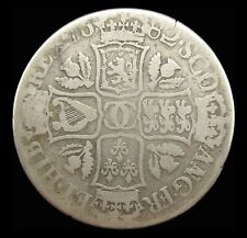 More details for scotland charles ii 1682 silver dollar - vg - rare
