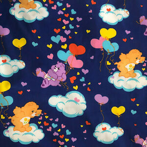 Bear Fabric CA1264KK Care Bears Sparkle /& Shine Carefree 36in Panel BlueMetallic Gold 100/% cotton fabric by the panel