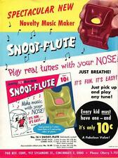 Print. ca 1964. Toy Snoot Flute Ad - 10 cents - every kid must have one