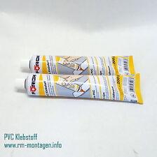 PVC-Klebstoff 200g transparent Kunststoffkleber Kaltschweißmittel 2 Stck im Set