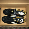 Lotto Black Leather Soccer Shoes, Brand New