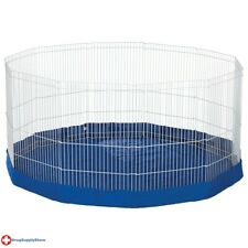 "RA Mat/Cover for the Ferret/Rabbit Pet Playpen with Extension - Blue - 61"" dia"