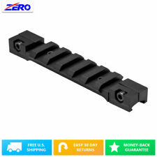 """3/8"""" Dovetail to Weaver/Picatinny 3.75"""" 7 Slot 3.75"""" Low Profile Adapter Rail"""
