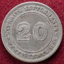 Insediamenti dello Stretto 20 CENTESIMI 1895 (B0809)